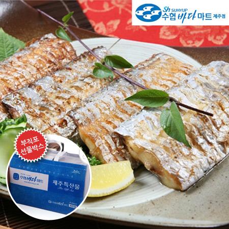 [제주도직송]수협바다마트 토막갈치(왕특대) 550g/3팩(1.6kg)+부직포가방이식사